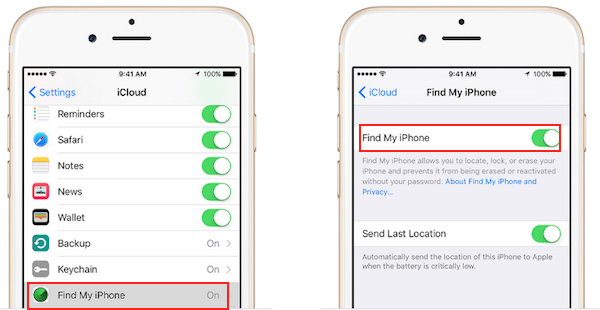 Activate Find My iPhone for iOS - What You Need To Do If Your iOS Device Is Stolen