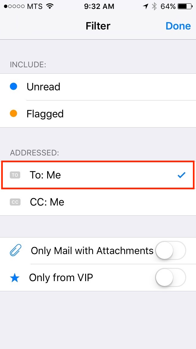 img  To  Me - iOS 10 Mail Filters - How To Use Them And Why You Should