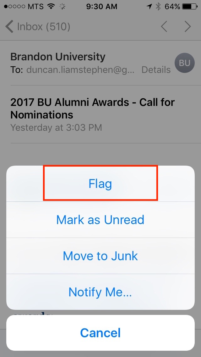 img  flag email - iOS 10 Mail Filters - How To Use Them And Why You Should