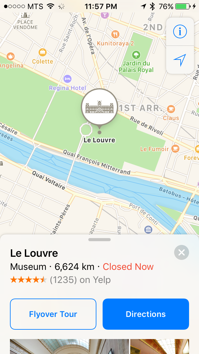 img  le louvre - Using Third Party Extensions in Maps - How and Why