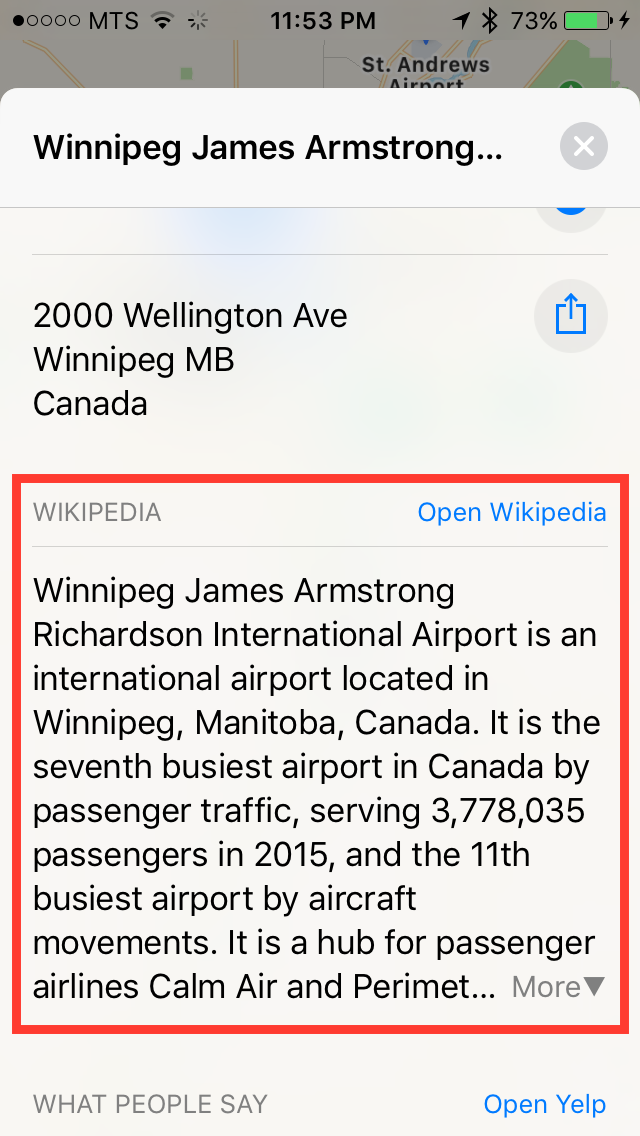 img  wikipedia - Using Third Party Extensions in Maps - How and Why