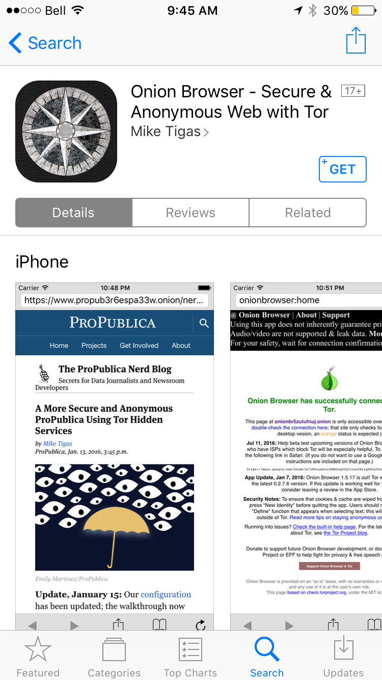 img  onion - Extra Security: 10 Apps That Improve Your iPhone or iPad's Privacy