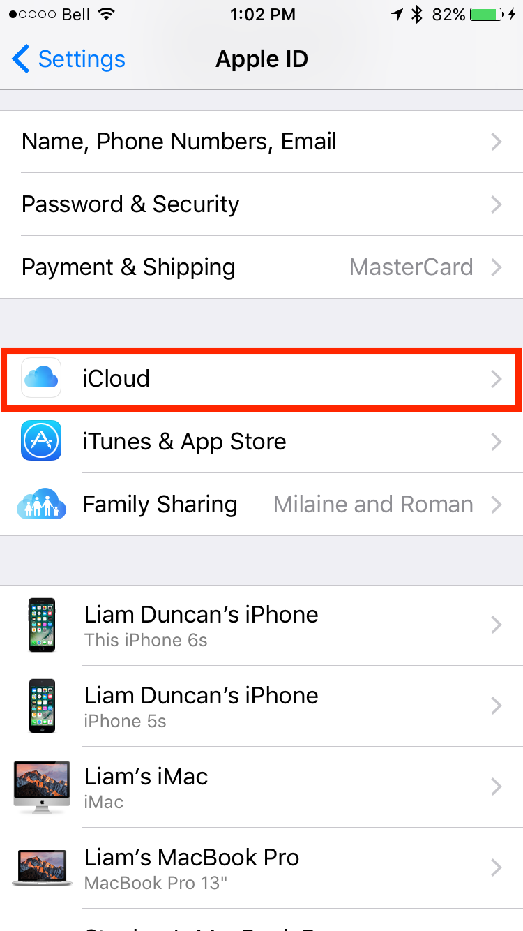 img  icloud settings 1 2 - The Best Way to Transfer your Data from an Old iPhone to a New iPhone
