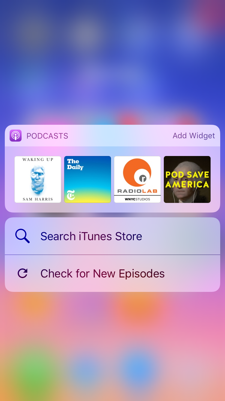 img  podcast  - How To Use 3D Touch