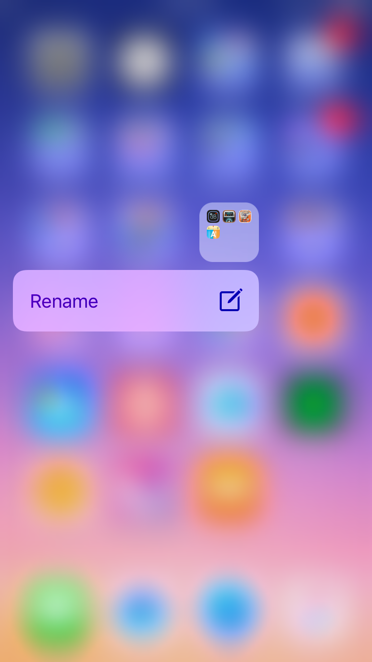 img  rename folder  - How To Use 3D Touch
