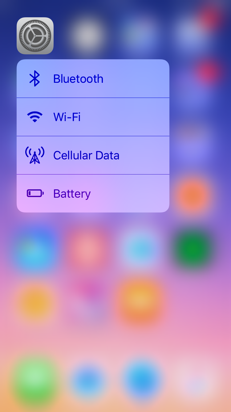 img  settings shortcuts  - How To Use 3D Touch
