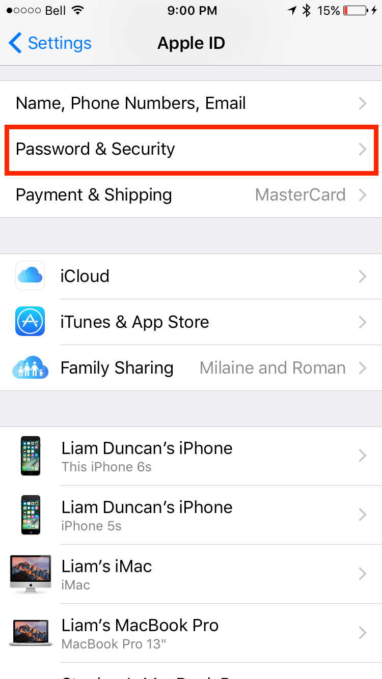 img  password and sec - How to Generate App-Specific Password for Third Party Apps