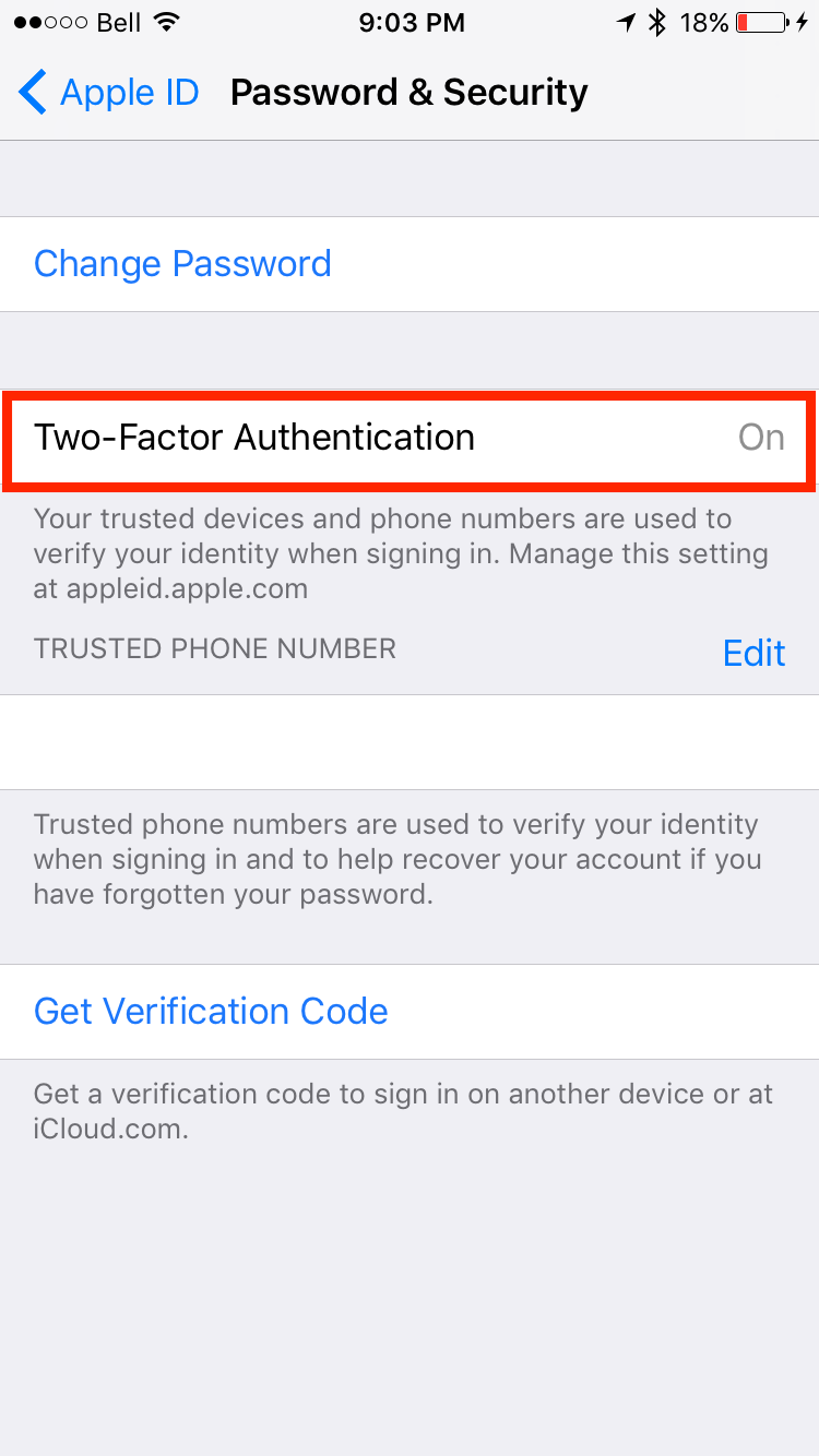 img  turn on  - How to Generate App-Specific Password for Third Party Apps
