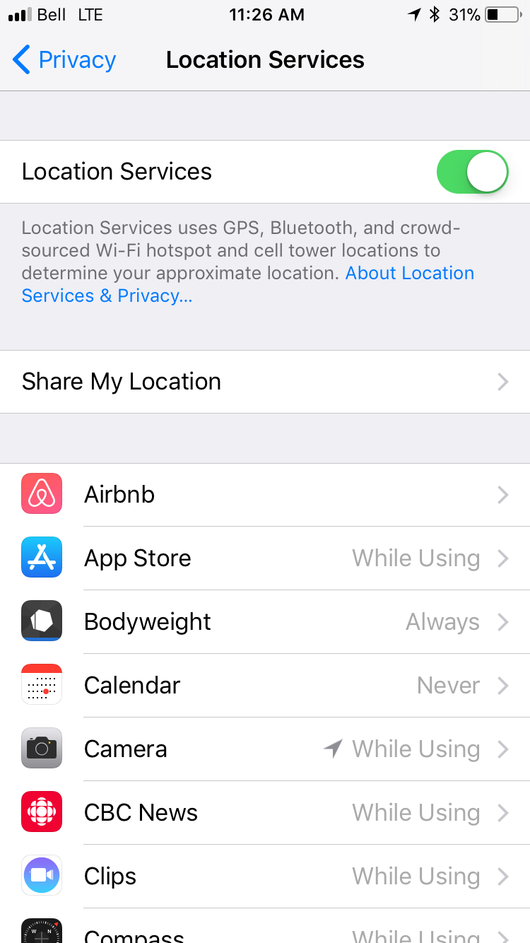 img  location settings - How to Protect Your Data When You Travel with Macs and iOS Devices