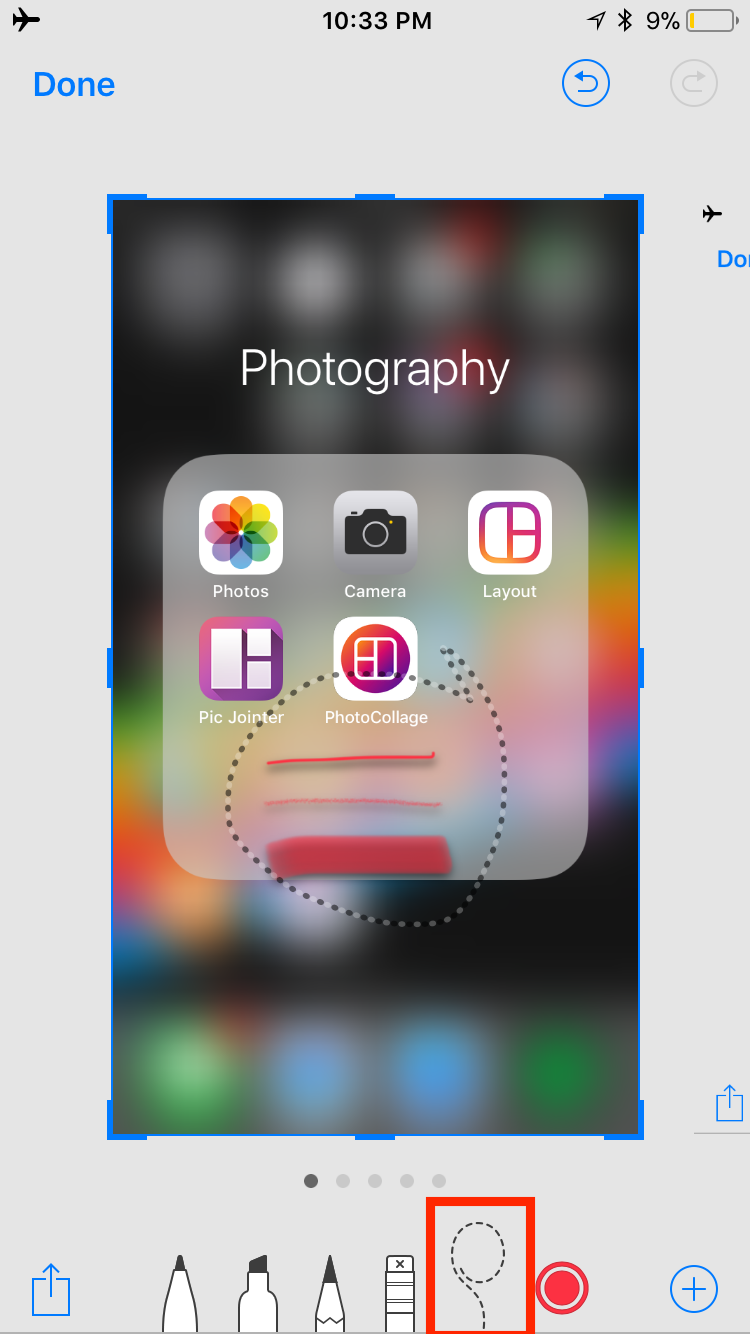 img  lasso  - How to Use Screenshots and Screen Recording in iOS 11