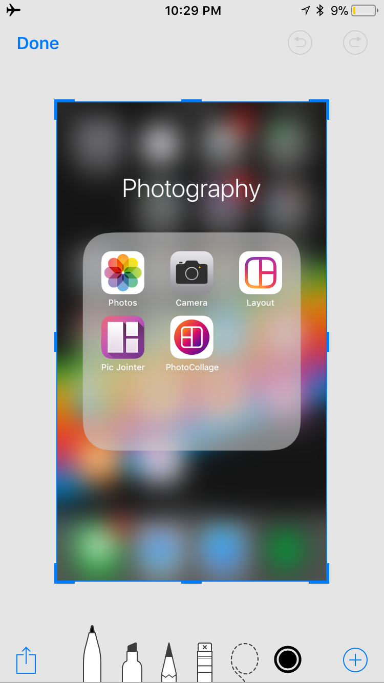 img  markup window  - How to Use Screenshots and Screen Recording in iOS 11