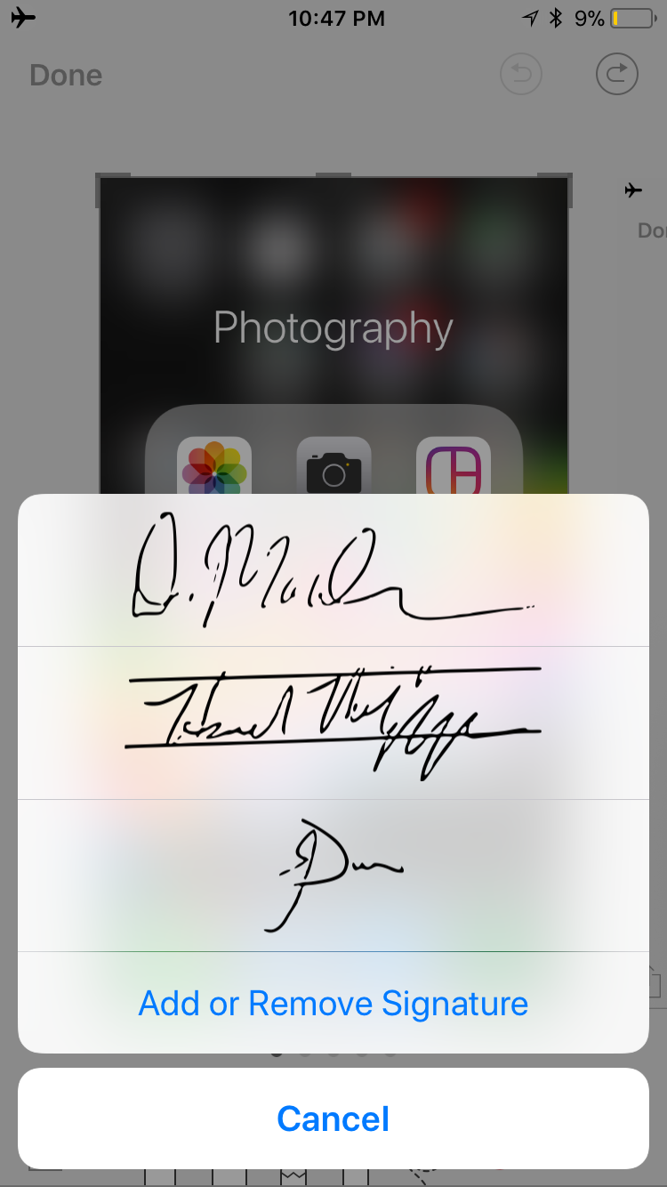 img  signature  - How to Use Screenshots and Screen Recording in iOS 11