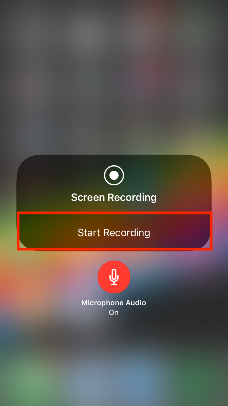 img  start recording  - How to Use Screenshots and Screen Recording in iOS 11