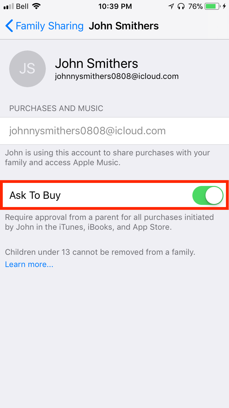 img ask to buy - Everything You Need to Know About iCloud