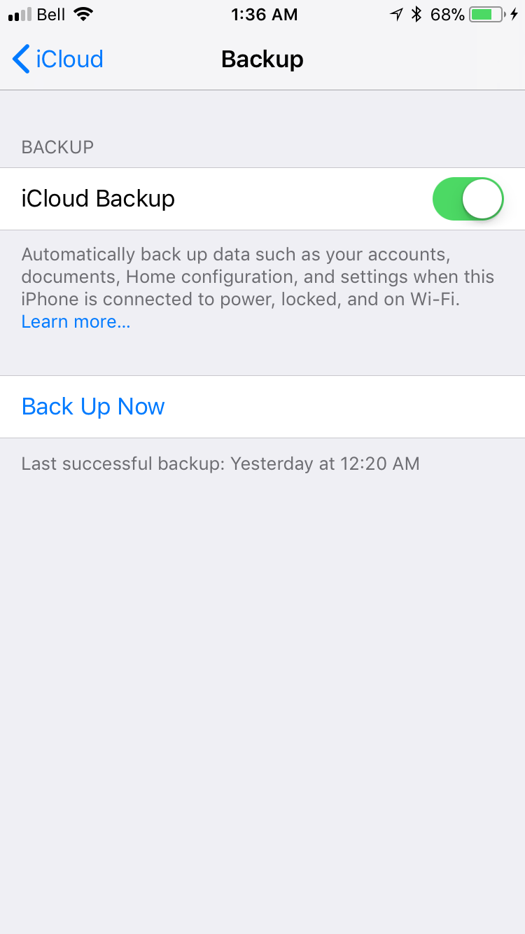 img back up now - Everything You Need to Know About iCloud