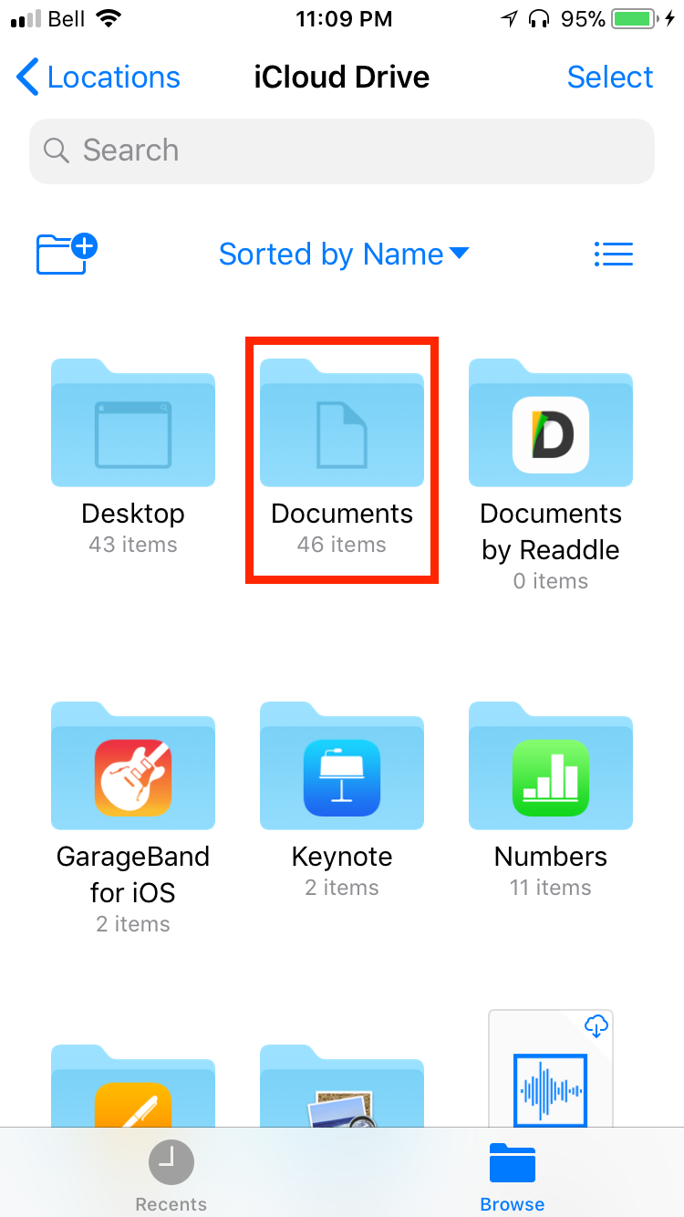 img documents folder - Everything You Need to Know About iCloud